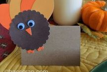 Thanksgiving Ideas and Inspiration / Get ideas for Thanksgiving Crafts, Thanksgiving recipes, Thanksgiving decorations, Thanksgiving tablescapes and more.