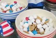 Patriotic Favorites / #Crafts, #Recipes, #DIY, #Decor and more with a red, white and blue patriotic feel. Perfect ideas for your #MemorialDay or #4thofJuly events.