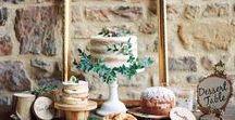 N a k e d Ca k e s / I have fallen in love with this cake design, rustic, elegant and very very scrummy!  #nakedcake #exposedcake #weddingcake