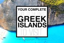 Greece / Greece - Greek Islands (Santorini, Mykonos, Crete...) Travel, photography, things to do in, fashion, food, nightlife, living and everything.  If you are interested in collaborating, please leave a comment on one of our pins. Thanks!