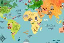 Travel is happiness ! / Tableau collaboratif sur le thème Voyage, si vous voulez nous rejoindre, abonnez-vous au tableau puis, envoyez moi un message privé