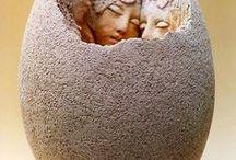 keramika-figury atd. / keramika-figury lidí,zvířat