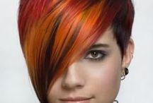 ÚČES-hairstyle / účesy zen-vlasy krátké,dlouhé střihy,barvy