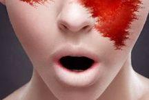 BODY paint,ART-umělecké líčení / malování na lidské tělo barvami, fotografické projekce,umělecké líčení a různé aplikace,techniky