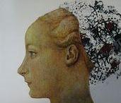 FACE-history / tváře žen,které vytvořili malíři historických etapách vývoje společnosti