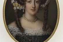Miniatury-painting,jewerly / miniatury-portréty jako klenoty i malá umělecká dílka