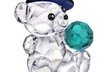 Bear- glass-Swarovski