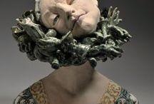 Merry Arttoones- / keramička,sochařka- Art -figury, keramické fantazie tvůrčí-bronz,hlína