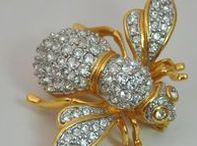 Jewelry BEATLES / klenoty-všechny druhy hmyzu.Berušky,vosy,včely,můry,roháči,scarabeus,pavouci --Brože,prsteny,přívěsty