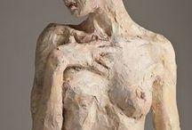 Debra BALCHEN /  USA- sochařka,keramička,malířka-pastel,hlína,figury,porteéty,bysty
