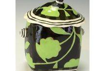 Nancy GARDNER / keramička-konvice,vázy,