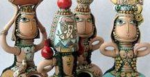 Tsolak SHAHINYAN  1964 / arménský keramik, malíř- umělec-mozaiky ,kresby,vázy