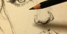 kreslení tužkou-malování