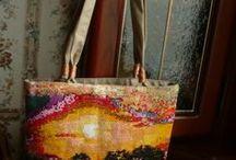 Handmade bags / Handmade bags from secondary materials