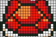pixellls / pixel art sometimes hama