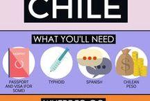 Chile - Chili / Travel tips, vaccines, recommendations and medication for travel to Chile. | Vaccins, conseils, médicaments pour voyager au Chili - La Clinique Santé Voyage