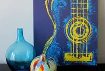 Guitar Drawings / This board is about the guitar photos that I like. Just follow if you like it!