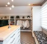 Custom Closet with Laundry Room / Photos by Nicole Karr