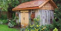 Ogród rustykalny / Ogród rustykalny, czyli wiejski - sielski, kolorowy, pachnący, użytkowy, przywodzący na myśl beztroskie dzieciństwo u babci.