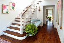 / E N T E R / / entry way and staircase design to drool over