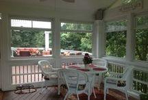 *Porches & Patio's* / Color, porches, patio's, etc. / by Connie Lenden