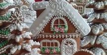 gingerbread houses and magic creatures