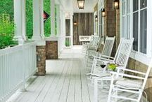 Porches & Patios / Come and see this board and get some fun ideas for your porch and patios.  Lots of different things you can do. / by Marilyn Sorensen