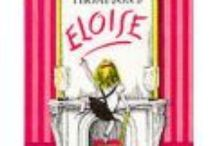 Eloise / My board is of Eloise at the Plaza in New York.  I have many pictures of her and her books, dolls, and everything she likes to get her fingers into. I love her books.