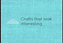 Crafts that look interesting / This is a fun board of crafty projects and ideas! www.facebook.com/YouniquebyBarb