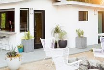 B A C K Y A R D / patio, backyard, outdoor dining & kitchen