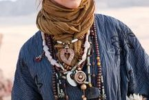 """Boho Tribal Jewelry / """"Jewelry takes people's minds off all your imperfections."""" ~Anonymous"""