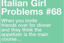 Sono una Ragazza Italiana <3 <3 / I am an Italian Girl <3 / by Danielle Villhard