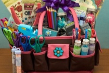 DIY Gift Baskets and Hostess Ideas / by Cathey Gray