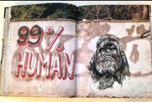 MJ ILLUSTRATES Walls Notebook