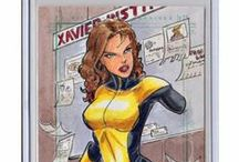 Shadowcat / Kitty Pryde / All things related to Shadowcat / Kitty Pryde.  My favorite character to collect for.