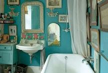 Eccentric Bathrooms / Love bathrooms that are inspired by the Sea & Bohemianism the place where we refresh our body, mind & spirit.