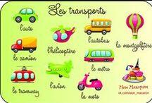 FLE : la ville (les commerces) et les transports