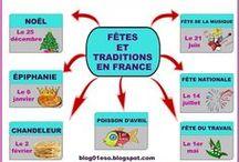 FLE : les fêtes, les traditions, les célébrations
