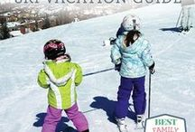 Ski Mom Guide to Travel and Slope Style / Top destinations, travel tips, and stylish ski gear. Fashion for the mountain and apres ski. The best tips and tricks for planning your family ski trip.