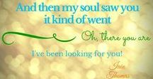 Love is in the air / Thoughts and quotes about love, marriage, dating, sweethearts.