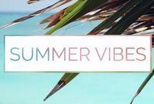 / B E A C H / / summer vibes