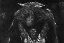 Fenris Warhammer game inspiration / by Nathan Hunt