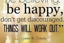 Sayings To Live By / Pins to follow to keep you happy each day.