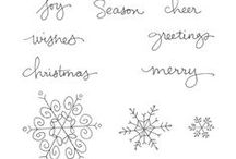 SU! Endless Wishes / Inspirations gathered for use with SU! Endless Wishes stamp set.