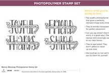 SU! Banner Blessings / Inspirations gathered for use with SU! Banner Blessings stamp set.