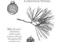SU! Ornamental Pine / Inspirations gathered for use with SU!Ornamental Pine stamp set.