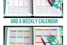 family-printable planners / by Ramblings of a Jesus Lover