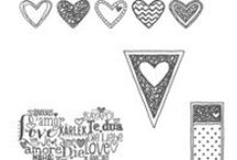SU! Language Of Love / Inspirations gathered for use with SU! Language Of Love stamp set.
