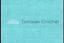 Tunisian crochet / this is an awesome board of tunisian stitches and patterns.