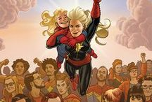 Captain Marvel and Friends / by Nathan Hunt